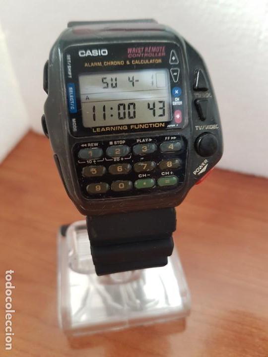 Relojes - Casio: Reloj caballero (Vintage) CASIO digital cuarzo, 1174. CMD-40 con correa silicona no original nueva - Foto 6 - 158229422