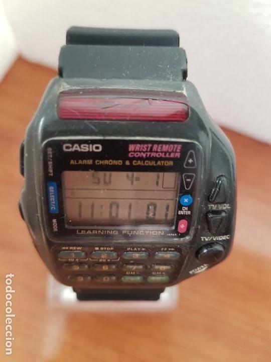 Relojes - Casio: Reloj caballero (Vintage) CASIO digital cuarzo, 1174. CMD-40 con correa silicona no original nueva - Foto 8 - 158229422