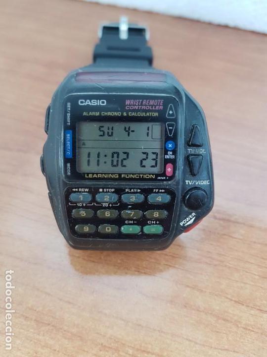 Relojes - Casio: Reloj caballero (Vintage) CASIO digital cuarzo, 1174. CMD-40 con correa silicona no original nueva - Foto 9 - 158229422