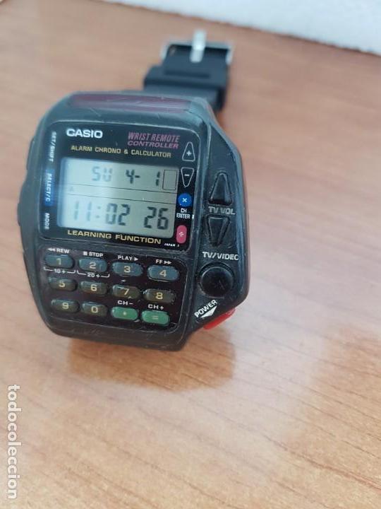 Relojes - Casio: Reloj caballero (Vintage) CASIO digital cuarzo, 1174. CMD-40 con correa silicona no original nueva - Foto 10 - 158229422
