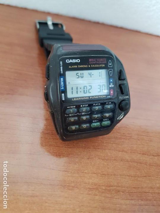 Relojes - Casio: Reloj caballero (Vintage) CASIO digital cuarzo, 1174. CMD-40 con correa silicona no original nueva - Foto 11 - 158229422