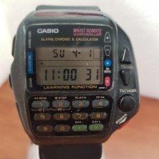 Relojes - Casio: RELOJ CABALLERO (VINTAGE) CASIO DIGITAL CUARZO, 1174. CMD-40 CON CORREA SILICONA NO ORIGINAL NUEVA. Lote 158229422