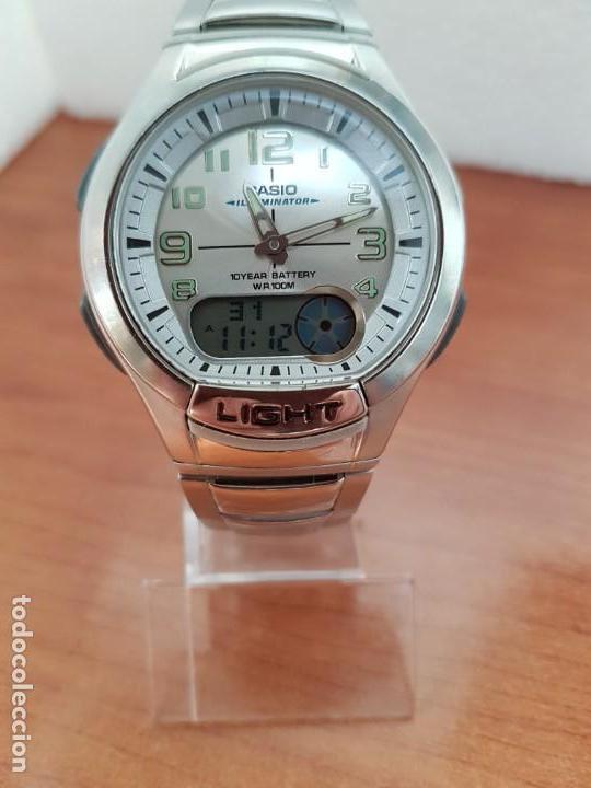 916d393c9ec3 Watches - Casio  Reloj caballero Casio analógico y digital 3793. AQ- 180 W