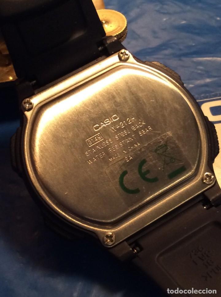 Relojes - Casio: RELOJ CASIO W 212 H. ¡¡ 5 ALARMAS !! ¡¡NUEVO!! (VER FOTOS) - Foto 7 - 158964106