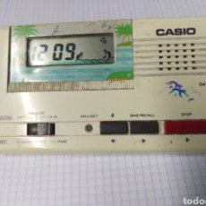 Relojes - Casio: CASIO DA-202 RELOJ DESPERTADOR VINTAGE DE SOBREMESA. Lote 159561314