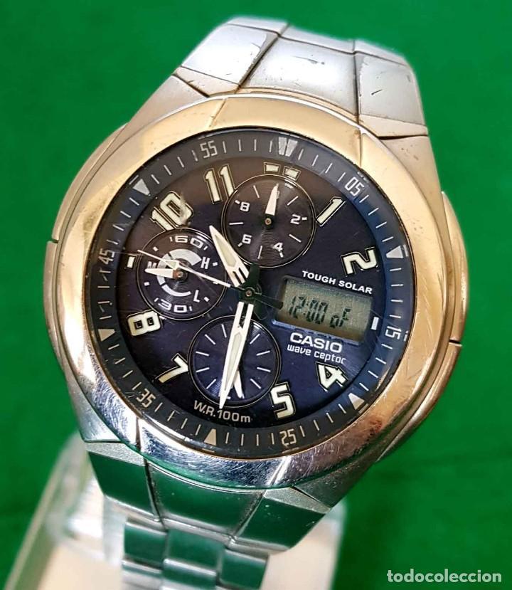 RELOJ CASIO WVA 510E WAVE CEPTOR, VINTAGE (Relojes - Relojes Actuales - Casio)