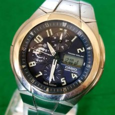 Relojes - Casio: RELOJ CASIO WVA 510E WAVE CEPTOR, VINTAGE. Lote 160347458