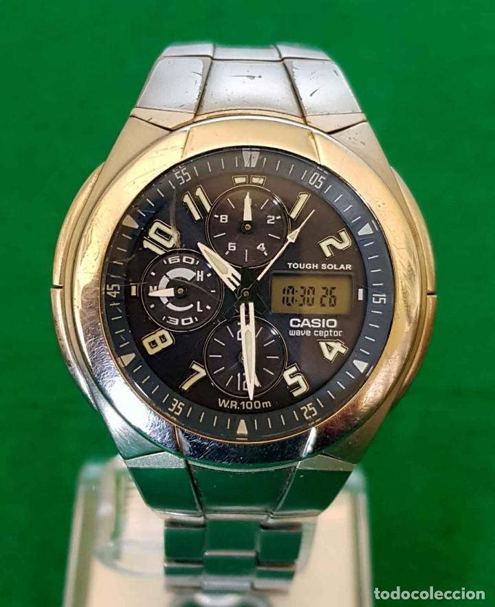 Relojes - Casio: RELOJ CASIO WVA 510E WAVE CEPTOR, VINTAGE - Foto 2 - 160347458
