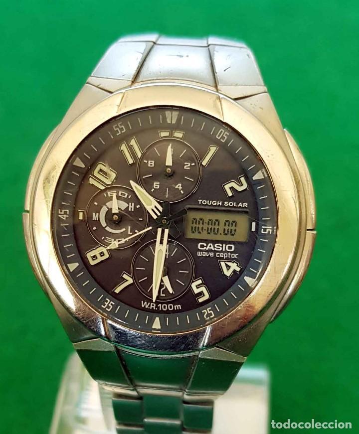 Relojes - Casio: RELOJ CASIO WVA 510E WAVE CEPTOR, VINTAGE - Foto 3 - 160347458