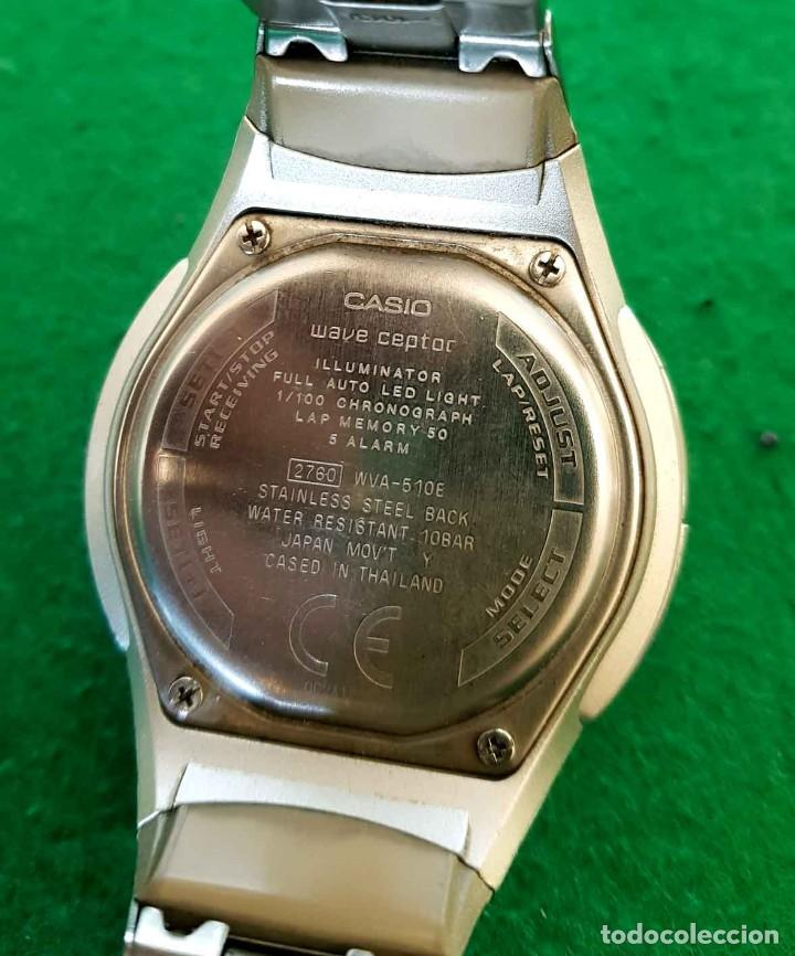 Relojes - Casio: RELOJ CASIO WVA 510E WAVE CEPTOR, VINTAGE - Foto 8 - 160347458