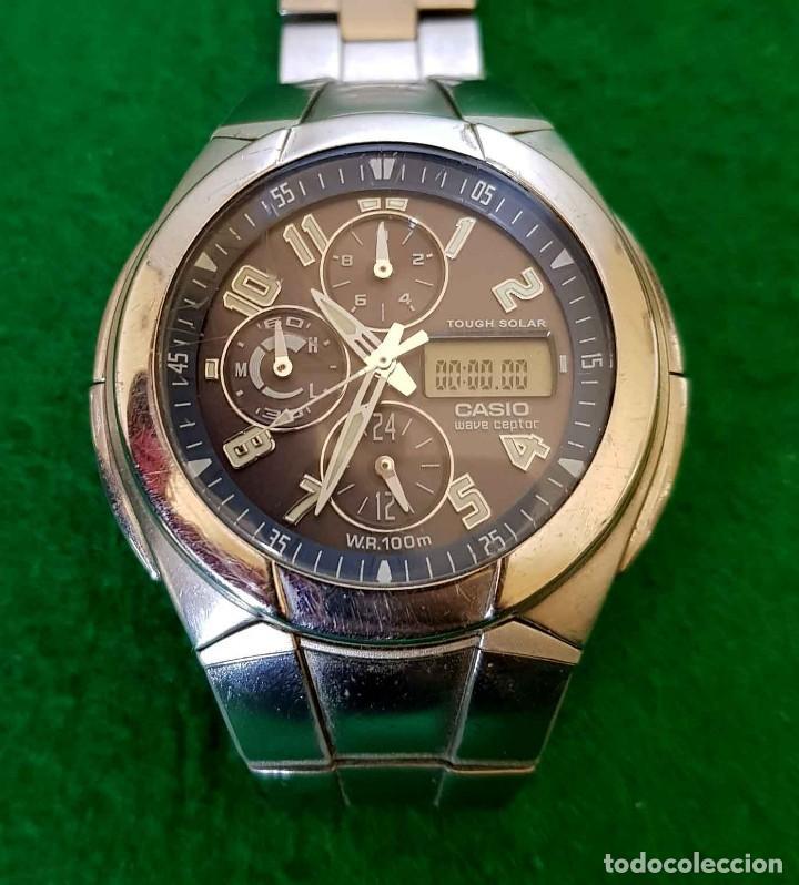 Relojes - Casio: RELOJ CASIO WVA 510E WAVE CEPTOR, VINTAGE - Foto 9 - 160347458