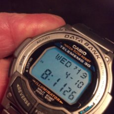 Relojes - Casio: RELOJ CASIO DB 34 H ¡¡ DATA BANK DE LOS 90 !! ¡¡NUEVO!! (VER FOTOS). Lote 160357454
