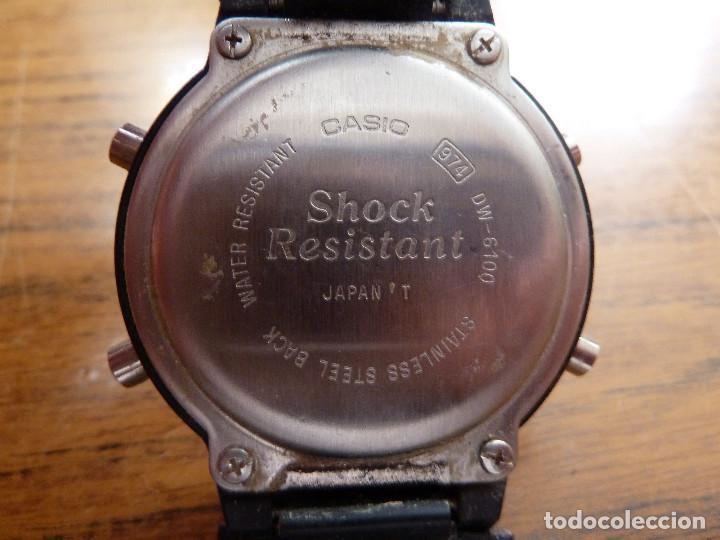Relojes - Casio: RELOJ CASIO 974 DW-6100 CON INSTRUCCIONES - Foto 3 - 161804310