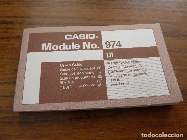 Relojes - Casio: RELOJ CASIO 974 DW-6100 CON INSTRUCCIONES - Foto 4 - 161804310