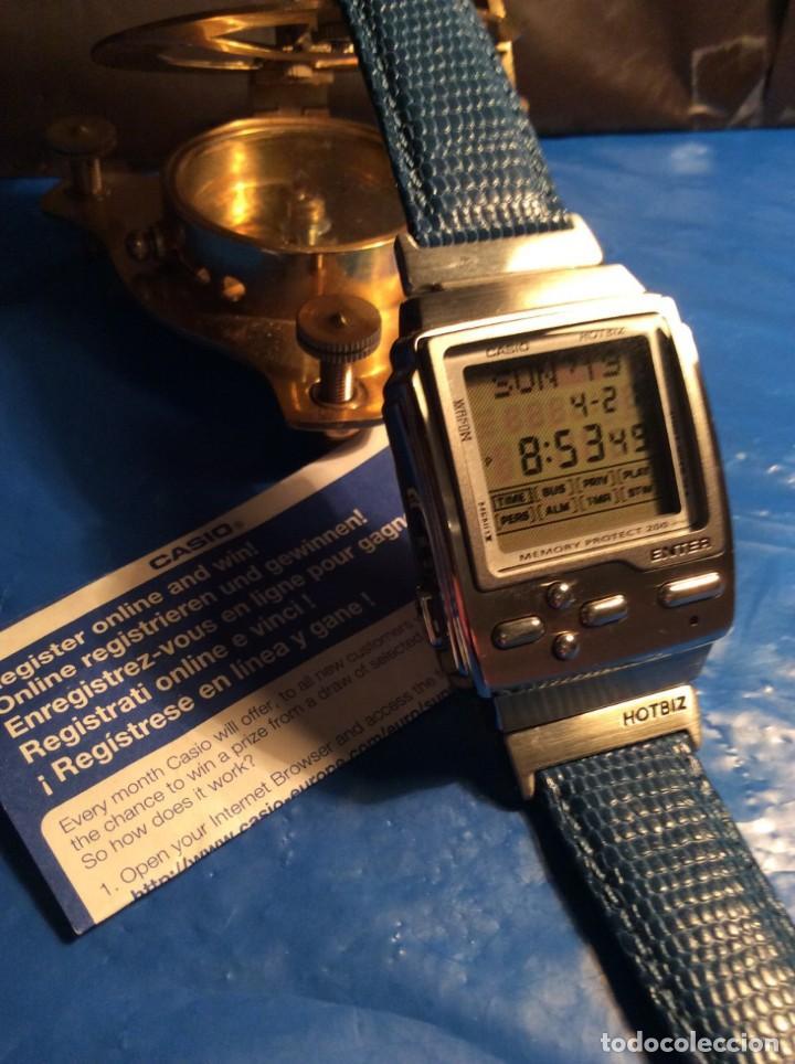 Relojes - Casio: RELOJ CASIO HOTBIZ - PRECIOSO VINTAGE - (VER FOTOS) ¡¡NUEVO!! - Foto 3 - 162302418