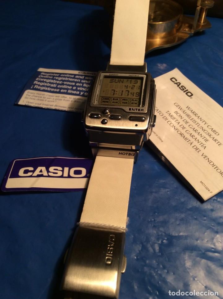Relojes - Casio: RELOJ CASIO HOTBIZ - PRECIOSO VINTAGE - (VER FOTOS) ¡¡NUEVO!! - Foto 4 - 162302418