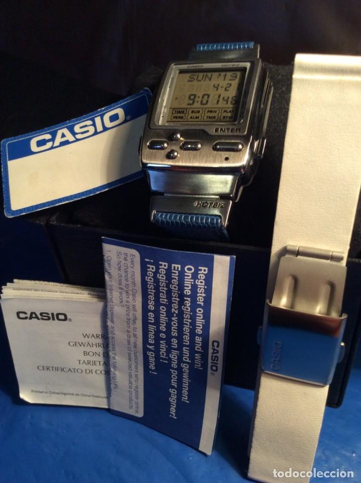 Relojes - Casio: RELOJ CASIO HOTBIZ - PRECIOSO VINTAGE - (VER FOTOS) ¡¡NUEVO!! - Foto 5 - 162302418
