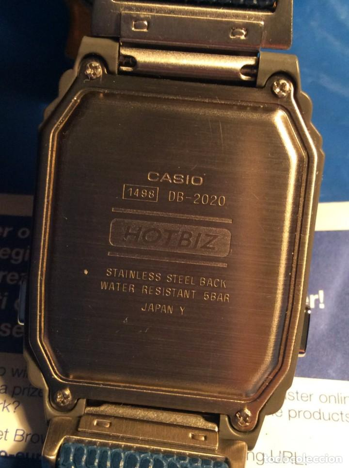 Relojes - Casio: RELOJ CASIO HOTBIZ - PRECIOSO VINTAGE - (VER FOTOS) ¡¡NUEVO!! - Foto 8 - 162302418