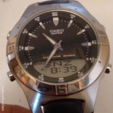 Relojes - Casio: CASIO EDIFICE 2747 EFA 110 TELEMEMO HORA MUNDIAL ETC. Lote 189430962