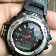 Relojes - Casio: CASIO GEOTRAIL 2376 FTS-601 VINTAGE RELOJ WATCH 1990-1999-GEO TRAIL. Lote 164234430