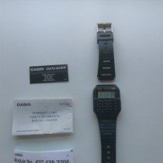 Relojes - Casio: RELOJ ANTIGUO RETRO CASIO WR - CA53W - CALCULADORA - FUNCIONANDO. Lote 165354678