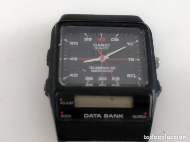 ANTIGUO RELOJ CASIO DATA BANK (Relojes - Relojes Actuales - Casio)