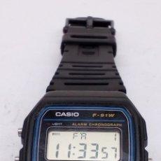 Relojes - Casio: RELOJ CASIO F-91W. Lote 166499780