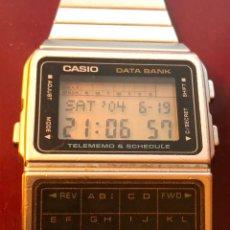 Relojes - Casio: MAGNÍFICO RELOJ DIGITAL, CASIO DATA BANK TELEMEMO. Lote 166952017