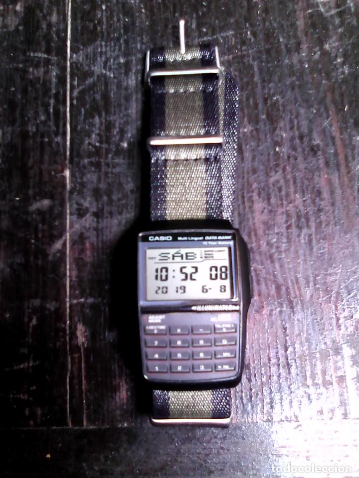 Relojes - Casio: Reloj Casio DBC-32 con correa de nylon / CALCULADORA, DATA BANK / - Foto 1 - 167499116