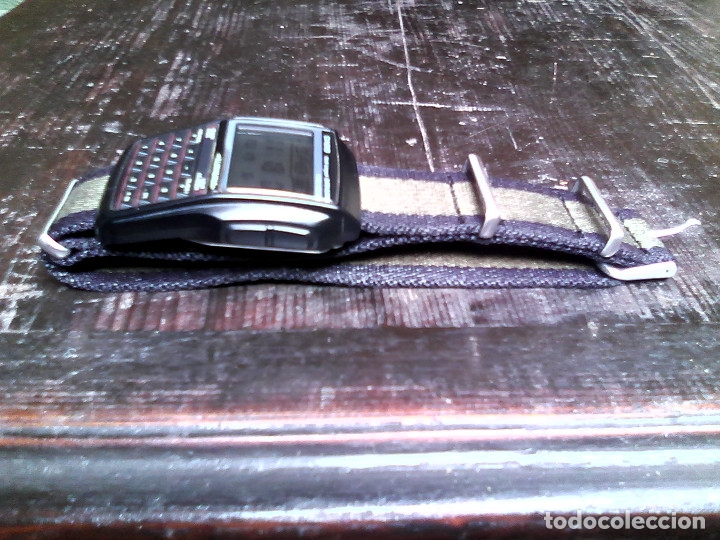 Relojes - Casio: Reloj Casio DBC-32 con correa de nylon / CALCULADORA, DATA BANK / - Foto 4 - 167499116
