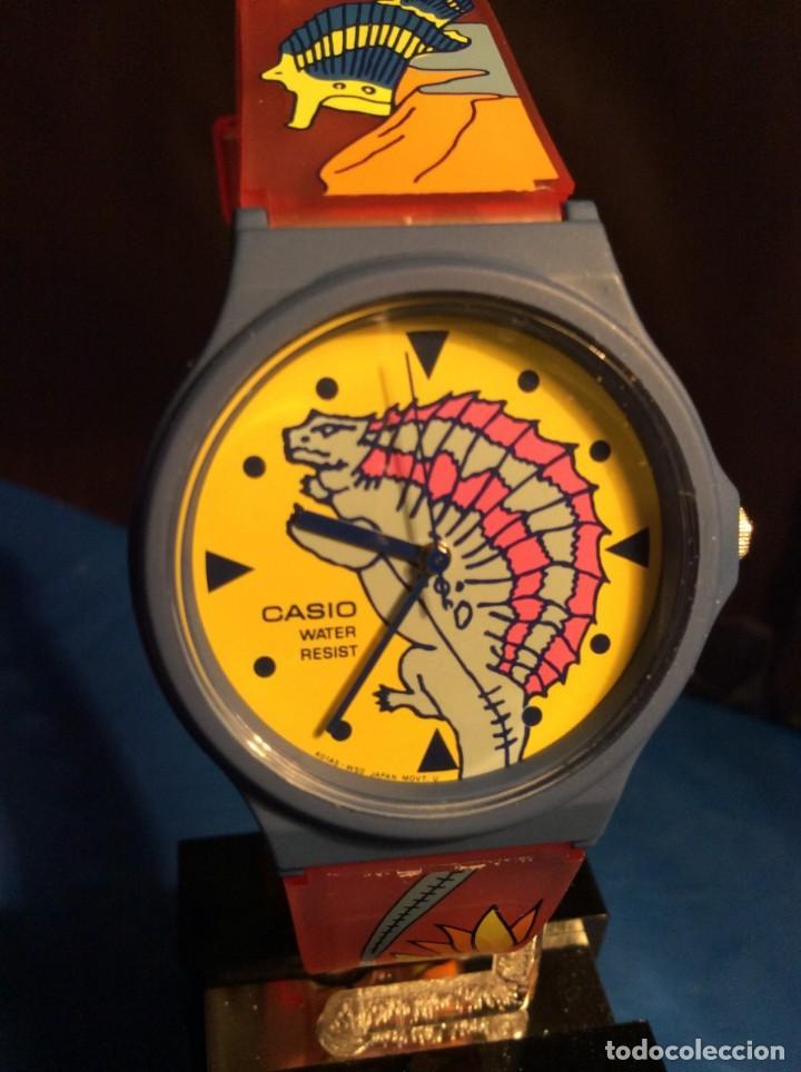 RELOJ CASIO PTM 10 A ¡¡ DINOSAURIOS !! VINTAGE ¡¡NUEVO!! (VER FOTOS) (Relojes - Relojes Actuales - Casio)