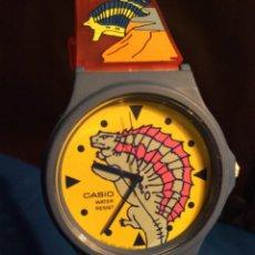 Relojes - Casio: RELOJ CASIO PTM 10 A ¡¡ DINOSAURIOS !! VINTAGE ¡¡NUEVO!! (VER FOTOS). Lote 167623320