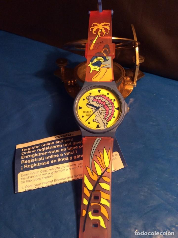 Relojes - Casio: RELOJ CASIO PTM 10 A ¡¡ DINOSAURIOS !! VINTAGE ¡¡NUEVO!! (VER FOTOS) - Foto 2 - 167623320