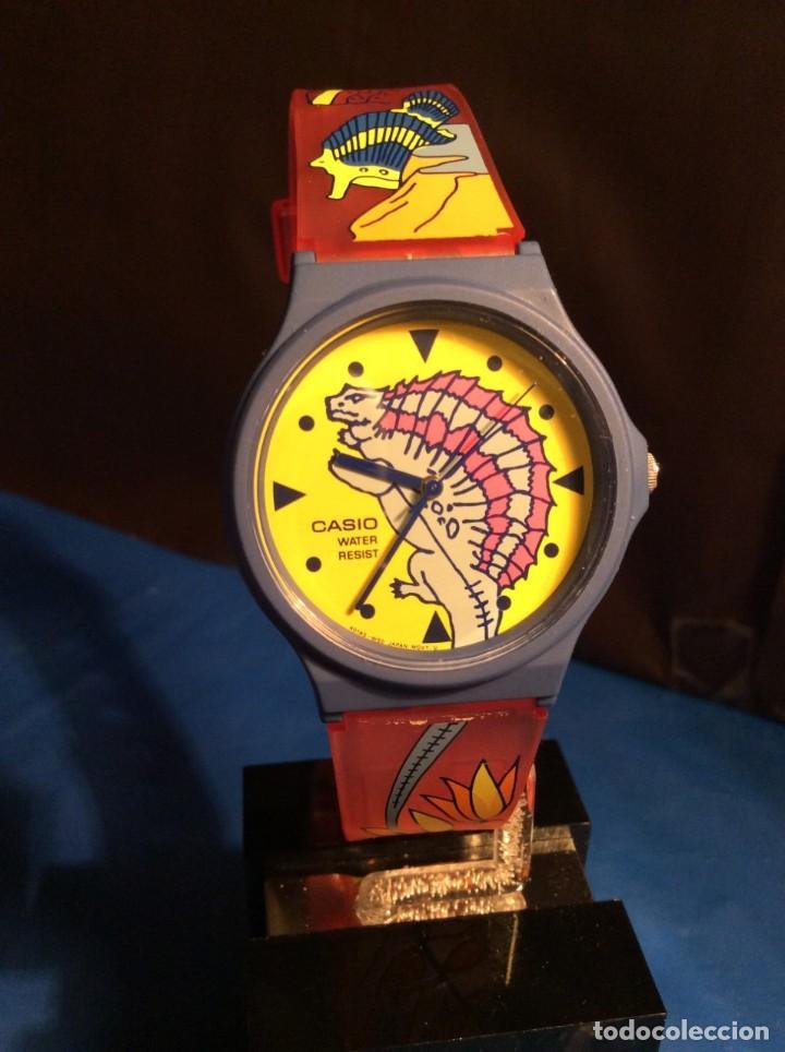 Relojes - Casio: RELOJ CASIO PTM 10 A ¡¡ DINOSAURIOS !! VINTAGE ¡¡NUEVO!! (VER FOTOS) - Foto 3 - 167623320