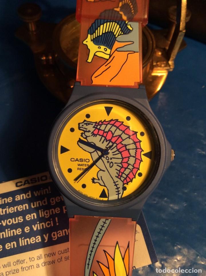 Relojes - Casio: RELOJ CASIO PTM 10 A ¡¡ DINOSAURIOS !! VINTAGE ¡¡NUEVO!! (VER FOTOS) - Foto 4 - 167623320