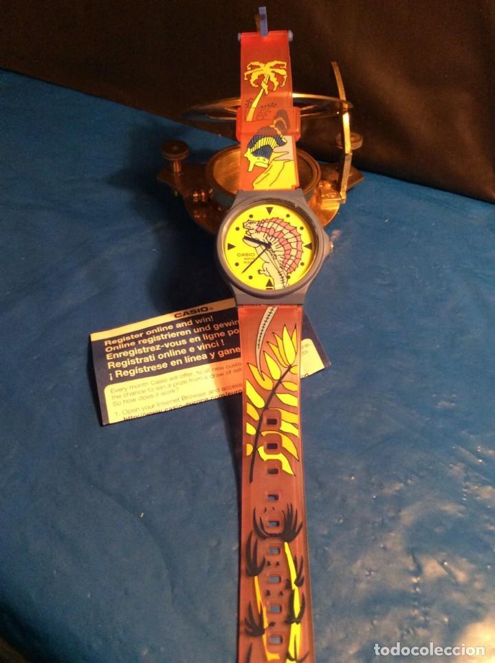 Relojes - Casio: RELOJ CASIO PTM 10 A ¡¡ DINOSAURIOS !! VINTAGE ¡¡NUEVO!! (VER FOTOS) - Foto 6 - 167623320
