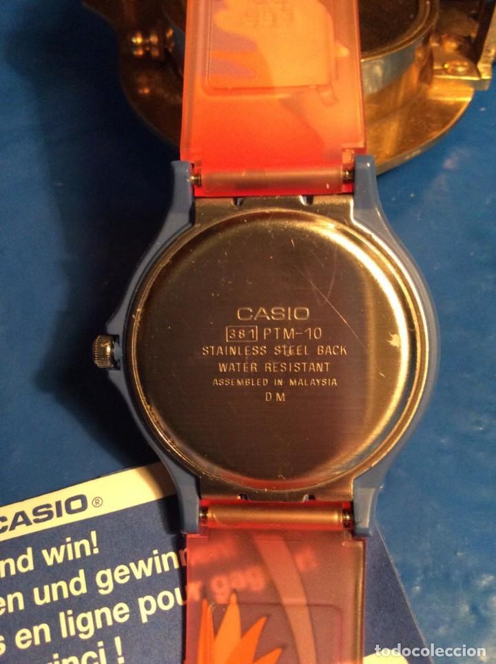 Relojes - Casio: RELOJ CASIO PTM 10 A ¡¡ DINOSAURIOS !! VINTAGE ¡¡NUEVO!! (VER FOTOS) - Foto 7 - 167623320