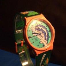 Relojes - Casio: RELOJ CASIO PTM 10 V ¡¡ DINOSAURIOS !! VINTAGE ¡¡NUEVO!! (VER FOTOS). Lote 167623728