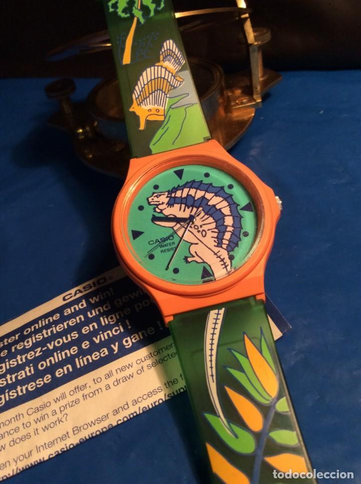 Relojes - Casio: RELOJ CASIO PTM 10 V ¡¡ DINOSAURIOS !! VINTAGE ¡¡NUEVO!! (VER FOTOS) - Foto 2 - 167623728