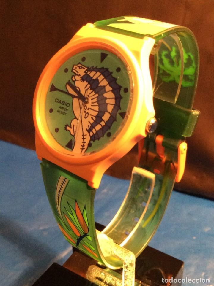 Relojes - Casio: RELOJ CASIO PTM 10 V ¡¡ DINOSAURIOS !! VINTAGE ¡¡NUEVO!! (VER FOTOS) - Foto 4 - 167623728