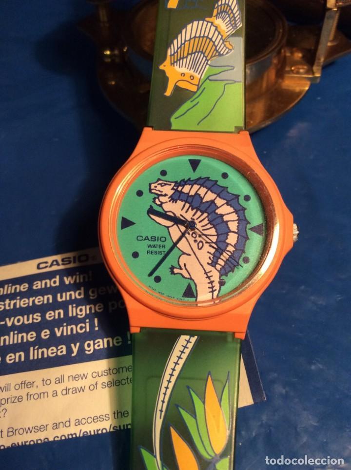 Relojes - Casio: RELOJ CASIO PTM 10 V ¡¡ DINOSAURIOS !! VINTAGE ¡¡NUEVO!! (VER FOTOS) - Foto 5 - 167623728