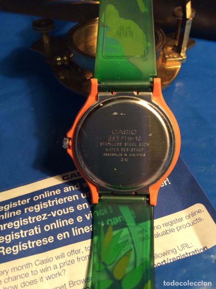 Relojes - Casio: RELOJ CASIO PTM 10 V ¡¡ DINOSAURIOS !! VINTAGE ¡¡NUEVO!! (VER FOTOS) - Foto 6 - 167623728