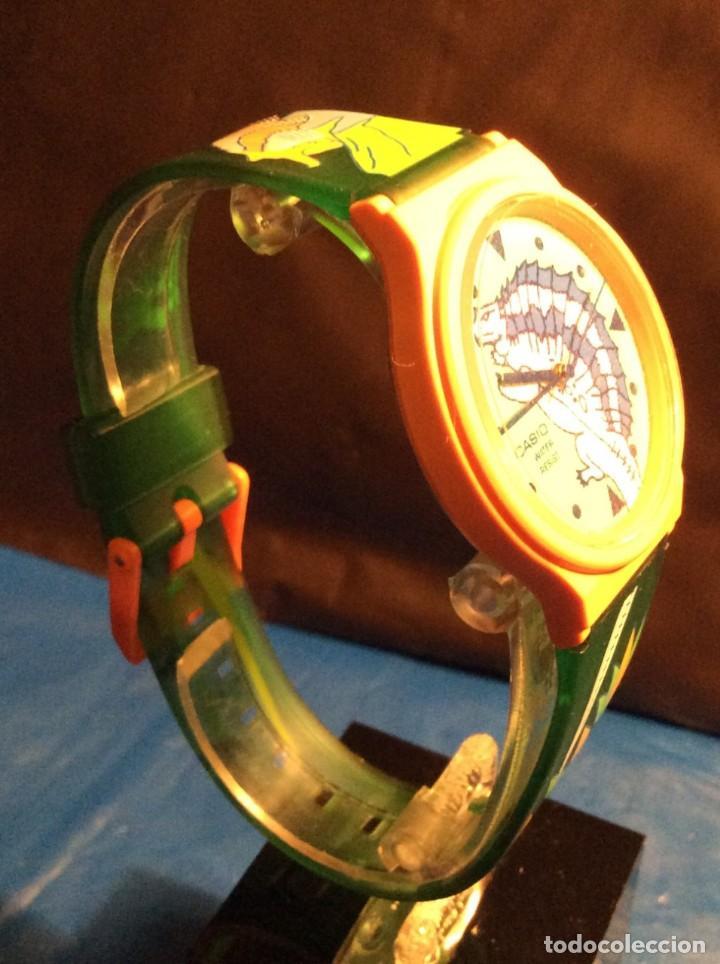 Relojes - Casio: RELOJ CASIO PTM 10 V ¡¡ DINOSAURIOS !! VINTAGE ¡¡NUEVO!! (VER FOTOS) - Foto 7 - 167623728