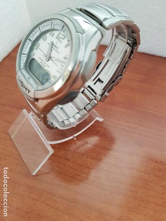 Resina W Casio 3793Aq 180 Caballero Y Caja AceroCorrea Reloj Digital Acero Analógico De TKJF3l1c