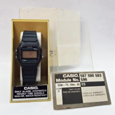 Relojes - Casio: RELOJ ANTIGUO CASIO W-66 MOD:590 JAPAN. Lote 168505952