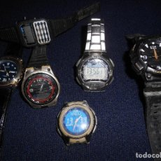 Relojes - Casio: LOTE RELOJES CASIO. Lote 168696164