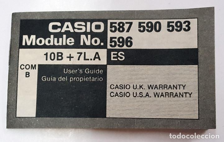 Relojes - Casio: Antigua Caja-Caballete de reloj CASIO F-84-W.1AZ - Foto 4 - 168963048
