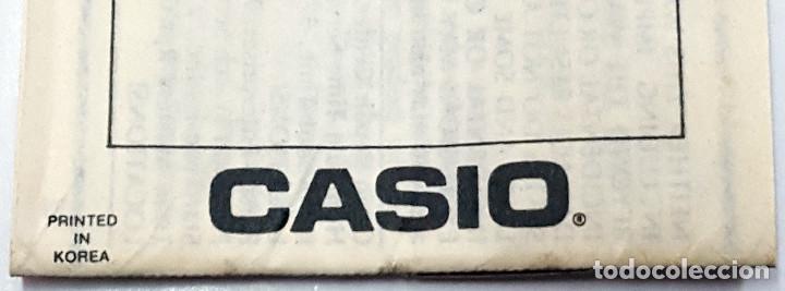 Relojes - Casio: Antigua Caja-Caballete de reloj CASIO F-84-W.1AZ - Foto 6 - 168963048