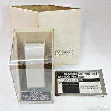 Relojes - Casio: ANTIGUA CAJA-CABALLETE DE RELOJ CASIO F-91W-1Z. Lote 168963616