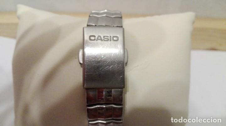 Relojes - Casio: RELOJ DE SEÑORA O CADETE MARCA CASIO SHEEN.ARMIS DE METAL.NO FUNCIONA EL MECANISMO. - Foto 4 - 169742221